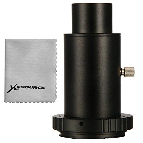"""XCSOURCE® Teleskop Kamera Adapter 1.25"""" Erweiterungs Rohr T Ring für Canon EOS Metall DC618"""