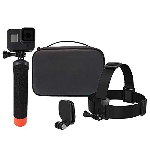 Kit de accesorios de buceo para cámara de acción, 5 en 1, juego de flotabilidad para deportes al aire libre, palos de selfie, combinación de accesorios para cámara Gopro MAX Hero8 7 6 5 Motion Camera