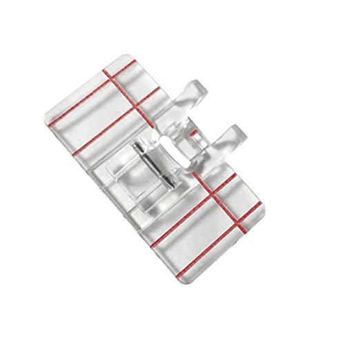 FiedFikt Prensatelas de plástico transparente para máquina de coser doméstica
