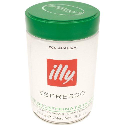 illy Kaffee, Kaffeebohnen Entkoffeiniert - Dose zu 250 g