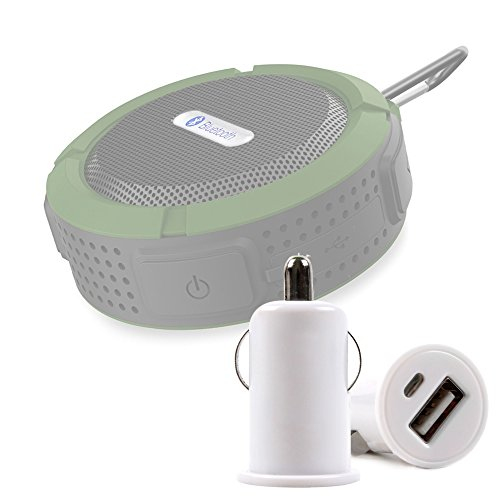 DURAGADGET Caricatore Accendisigari Auto per VicTsing Mini Altoparlante 3.0 | Aoso MetalBox - Connessione USB - Alta qualità