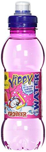 Yippy Water Erdbeere, 6er Pack, EINWEG (6 x 330 ml)
