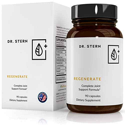 Regenerate Joint Supplement - Dr. Ian Stern Formulated - for Joint Pain & Inflammation Relief