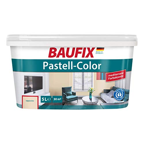 BAUFIX Pastell-Color Wand- & Deckenfarbe Cappuccino