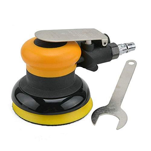 GUOCAO Herramientas Practica portátil neumática de disco neumático pulido a máquina, de 100 mm neumático Máquina de lijado, de mano Herramientas de lija de la máquina de mano industriales Abrasivo
