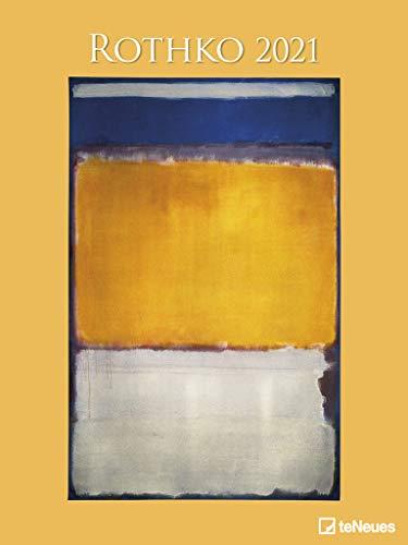 Rothko 2021 - Kunst-Kalender - Poster-Kalender - 48x64
