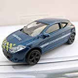 Auto Modelo Diecast 1:64 Escala Modelo De Coche De Aleación Renault Mecane Vehículo De Policía Francés Colección De Juguetes Decoración Ornamento Pantalla Regalos para Niños