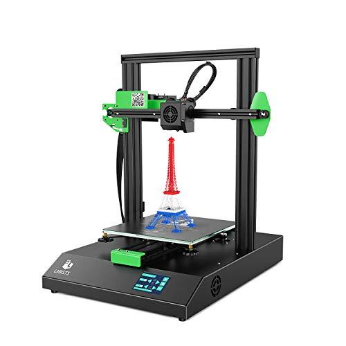 3D-Drucker, LABISTS Auto Leveling 3D-Drucker DIY-Kit für Erwachsene mit Resume-Druckfunktion, Touchscreen, Filamenterkennung, Druckgröße 220X220X250mm