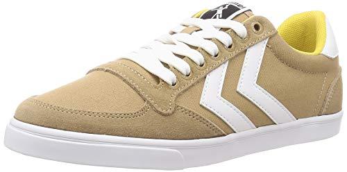 hummel Unisex-Erwachsene Slimmer Stadil Low Sneaker, Lark Melange,41 EU