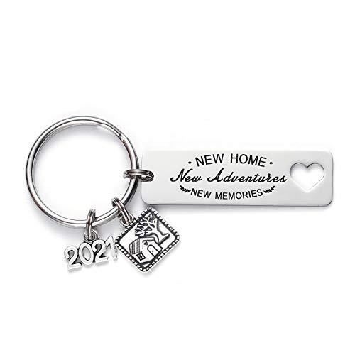 Homewarming Gifts - Portachiavi idea regalo per marito, moglie Medium