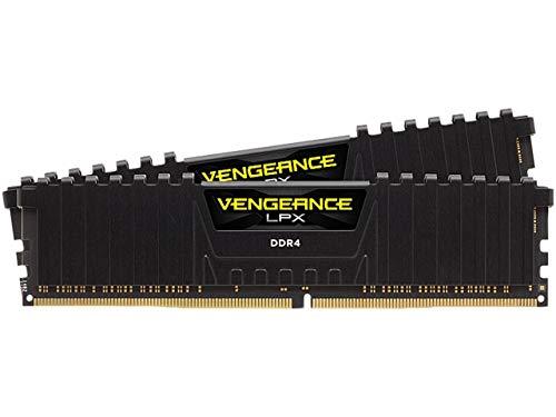 Corsair Vengeance LPX 16GB (2 X 8GB) DDR4 3600 (PC4-28800) C18 1.35V Desktop Memory - Black
