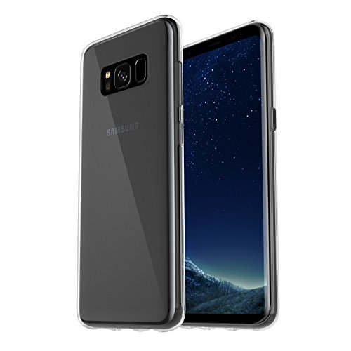 OtterBox clearly Protected Skin, Extra Slim Silikon Schutzhülle für Galaxy S8, transparent