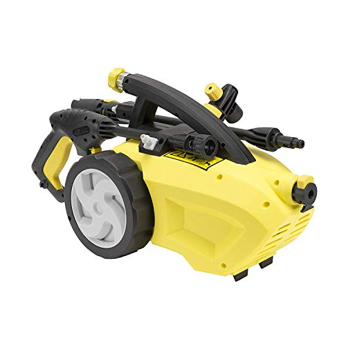 Product Image of the Realm 1500 PSI 1.50 GPM 11 Amp Electric Pressure Washer with Spray Gun,Wand,19ft Hose&Detergent Bottle