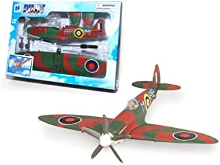 New 1:48 NEW RAY SKY PILOT COLLECTION - WORLD WAR II FIGHTER PLANES - SPITE FIRE Model By NEW RAY TOYS