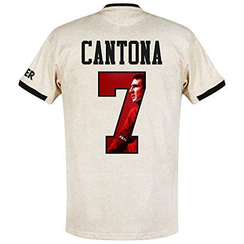 adidas Man Utd Away Cantona 7 Trikot 2019-2020 (Gallery Beflockung) - S