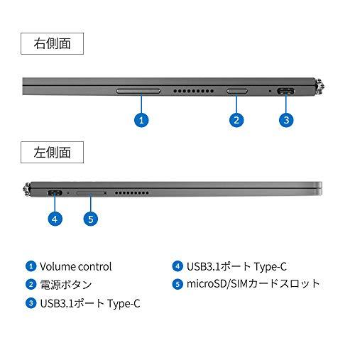 LenovoYogaBookC93010.8型デュアルディスプレイWiFiモデル(Corei5-7Y54/4GBメモリ/256GBSSD)ZA3S0064JP