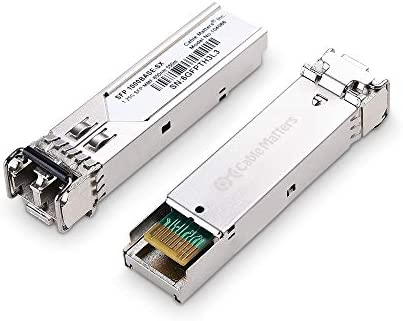Cable Matters 2 Pack 1000BASE SX SFP to LC Multi Mode 1G Fiber Transceiver Modular for Cisco product image