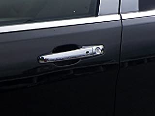 without Smart Entry Primed Black Exterior Outer Outside Door Handle Driver Side Front PT Auto Warehouse CH-3711P-FL
