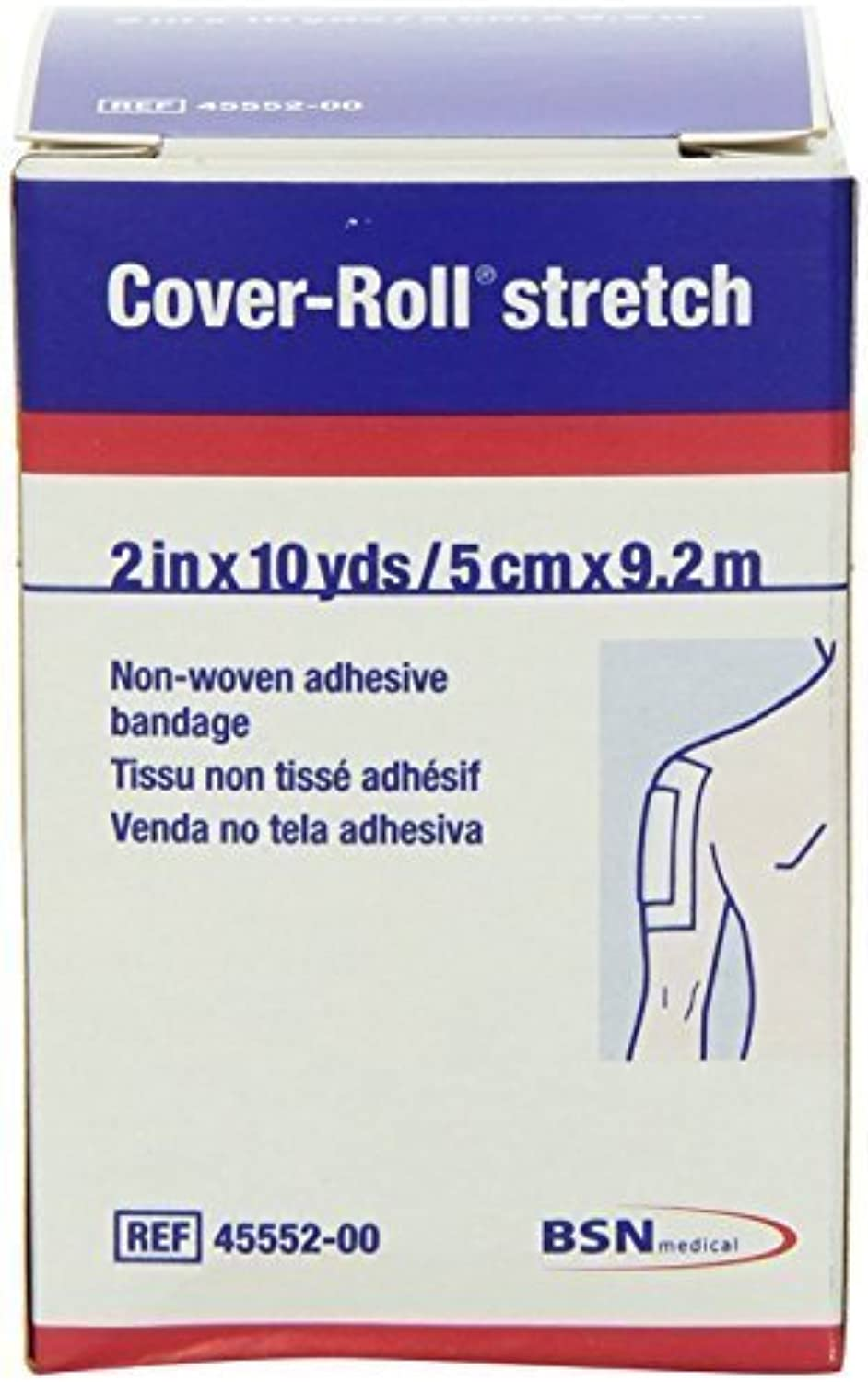 CoverRoll Stretch  2  x 10 Yards  Hypoallergenic (2 Pack)