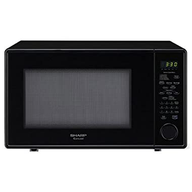 Sharp Carousel 1.8 Cu. Ft. 1100W Countertop Microwave Oven - Black