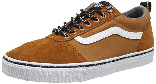 Vans Unisex Ward Suede/Canvas Sneaker, Schwarz, 44.5 EU