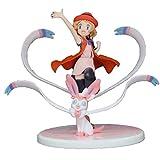 Figura Acción Anime, Figuras Batalla Pokémon Figura Anime Serena y Amp Nendoroid Estatua Pokémon, Figura Pokémon PVC Statuen Colección Adornos Modelo Juguete Decoración Jouet Cadeau Anniversaire 5.1In