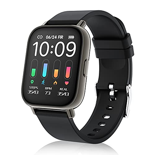 Smartwatch, 1.69' Táctil Completa Reloj Inteligente Impermeable IP67 Pulsera Actividad 24 Modos Deporte, Hombre Mujer, con...