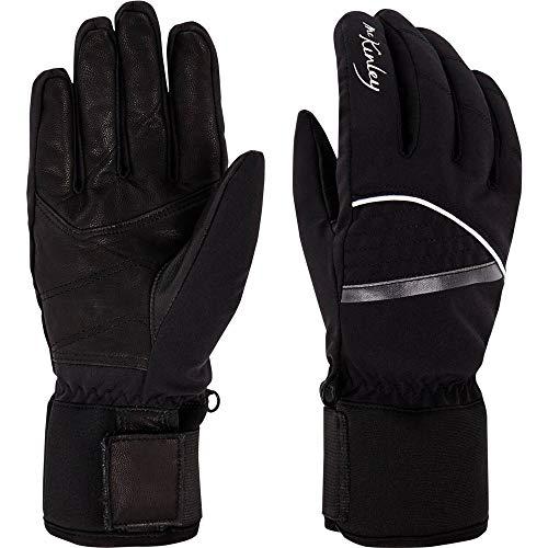 McKINLEY Damen Dastrid Handschuhe, Black Night, 6,5