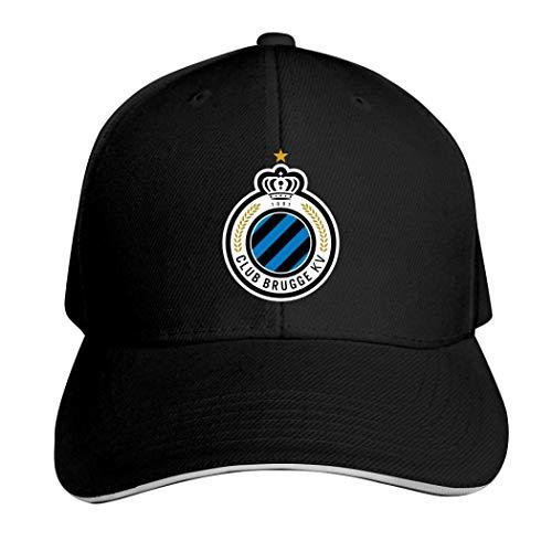 Club Brugge KV Casquette Hat Neutral Verstellbar Truck Driver Cap, Herren, 457PKT1-JXI-DEX, Schwarz , Einheitsgröße