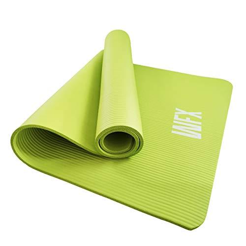 #DoYourFitness x World Fitness - XXL Fitnessmatte »Ashanti« - 190 x 100 x 1 cm - rutschfest & robust - Yogamatte Gymnastikmatte ideal für Yoga, Pilates, Workout, Outdoor & Gym - Grün