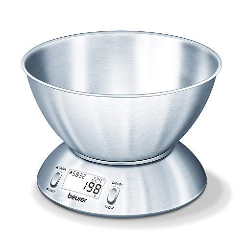 Beurer KS 54 Küchenwaage (mit Edelstahlschüssel)