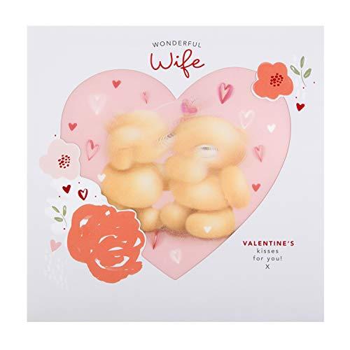 Hallmark Forever Friends Valentinstagskarte für Ehefrau, animiertes Linsen-Design