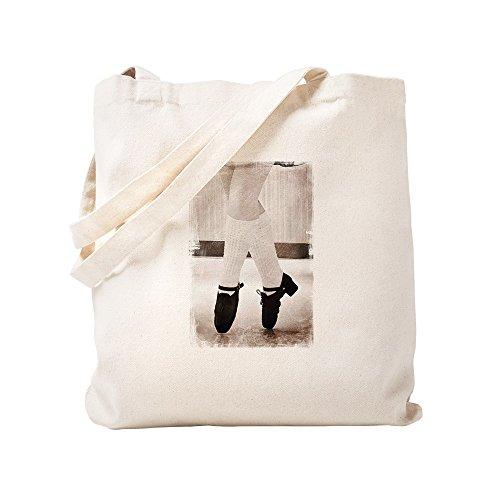 CafePress Grunge Irische Tänzerin–natürliche Canvas Handtasche, mit Tuch, mit Tasche, canvas, khaki, S