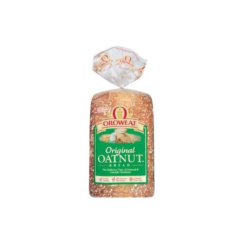 Oroweat Sliced Bread 24oz Loaf (Pack of 2) Choose Flavor Below (Whole Grains - Oatnut)