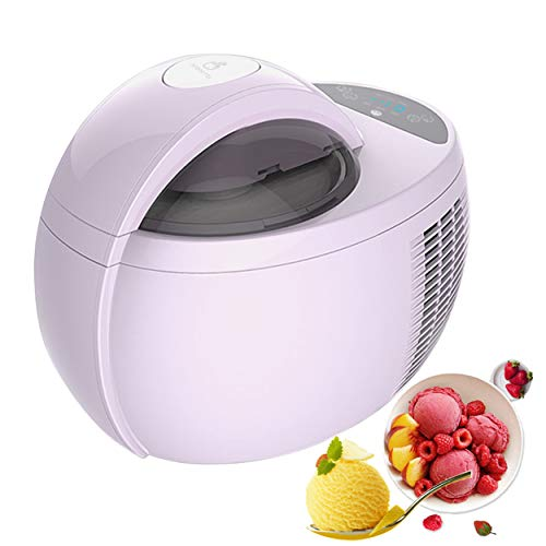 Fantastic Deal! Ice Cream Makers Electric, Freezing Self-Refrigerating Ice Cream Machine, 1 Quart Fr...
