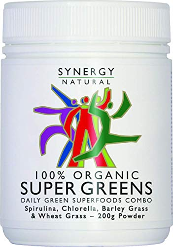 Synergy Natural Organic Super Greens Powder – 200g