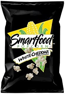 Smartfood White Cheddar Flavored Popcorn, 0.625 Ounce (Pack of 104)