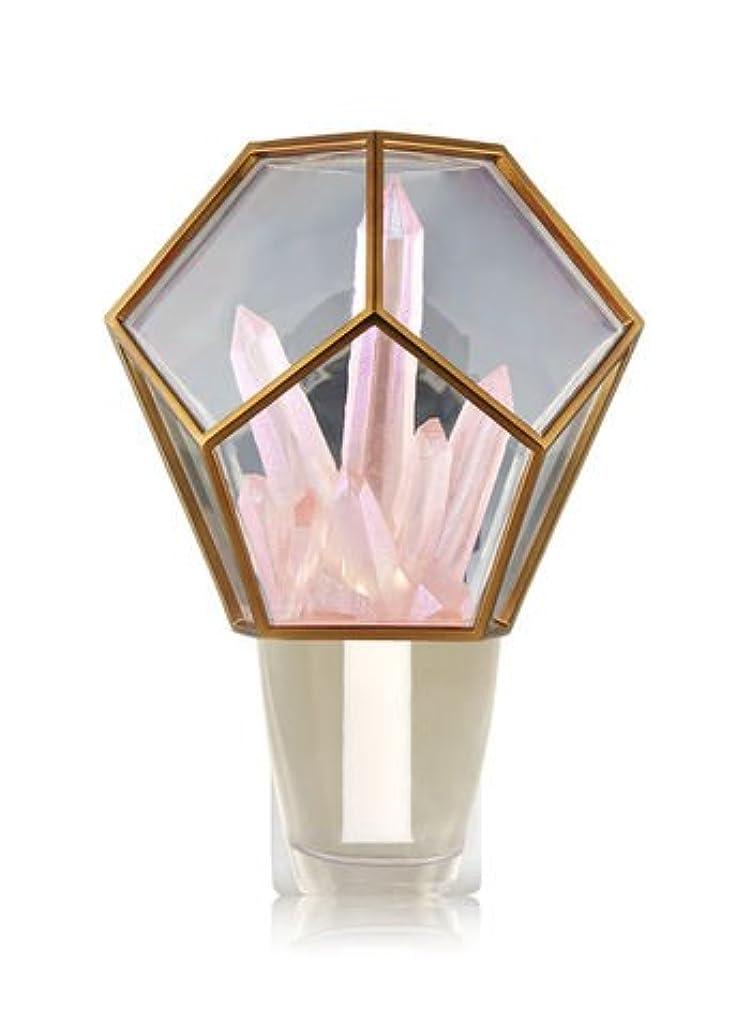 スケジュール応答博物館【Bath&Body Works/バス&ボディワークス】 ルームフレグランス プラグインスターター (本体のみ) クリスタルテラリウムナイトライト Wallflowers Fragrance Crystal Terrarium Night Light [並行輸入品]