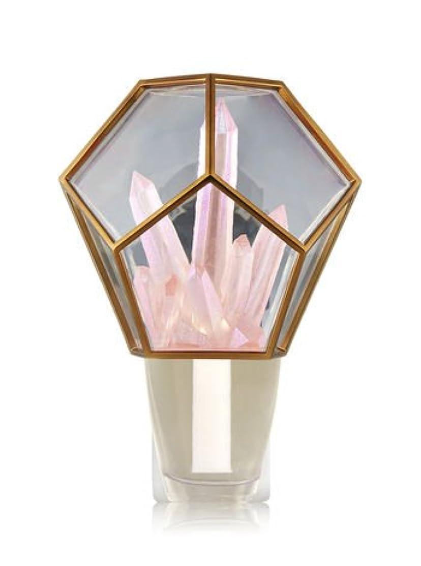 従順刈り取る寝る【Bath&Body Works/バス&ボディワークス】 ルームフレグランス プラグインスターター (本体のみ) クリスタルテラリウムナイトライト Wallflowers Fragrance Crystal Terrarium Night Light [並行輸入品]
