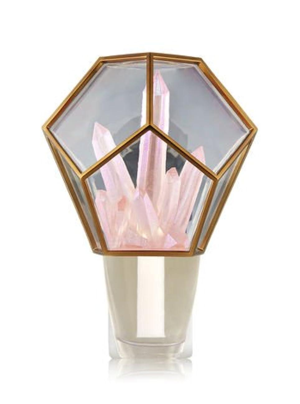 ラフ睡眠成功した目に見える【Bath&Body Works/バス&ボディワークス】 ルームフレグランス プラグインスターター (本体のみ) クリスタルテラリウムナイトライト Wallflowers Fragrance Crystal Terrarium Night Light [並行輸入品]