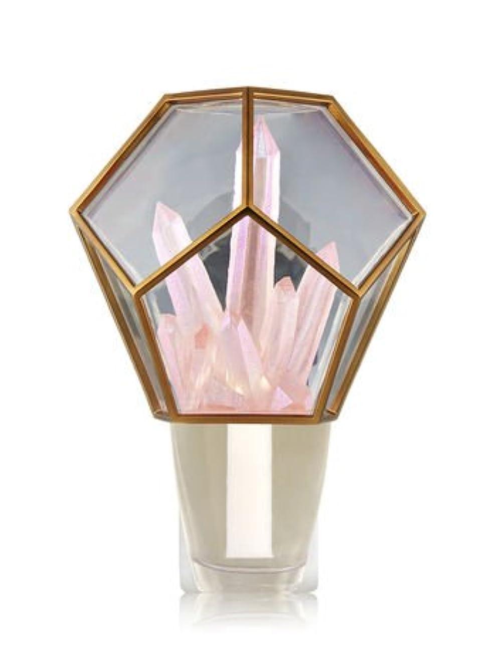 私たち乱雑な適切な【Bath&Body Works/バス&ボディワークス】 ルームフレグランス プラグインスターター (本体のみ) クリスタルテラリウムナイトライト Wallflowers Fragrance Crystal Terrarium Night Light [並行輸入品]