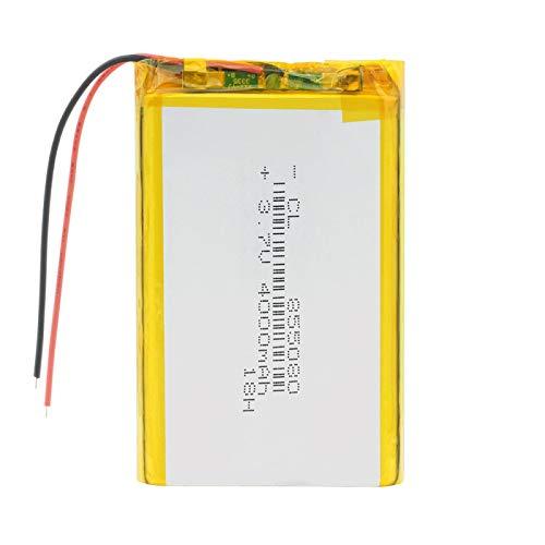 Softpoint 855080 - Batería de polímero de 3,7 V, 4000 mAh