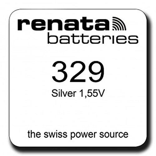 Renata Uhrenbatterie SP 329 ///; SR731SW;1 Pack