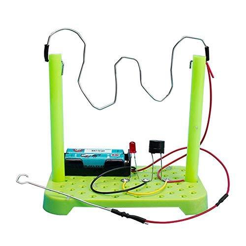 TOPINCN Electrónica Exploración Kit DIY Circuito Físico Juguete Niños Ciencia Experimento Educativo Hecho A Mano Ensamble Modelo