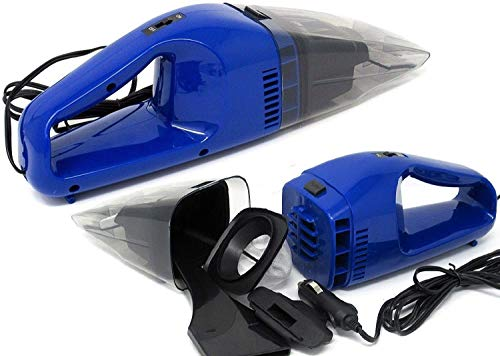Affordable Corded Car Vacuum, Handheld Portable Auto Vacuum Cleaner Powered by 12V Outlet of Car, with Separate Nozzle for Hard to Reach Areas
