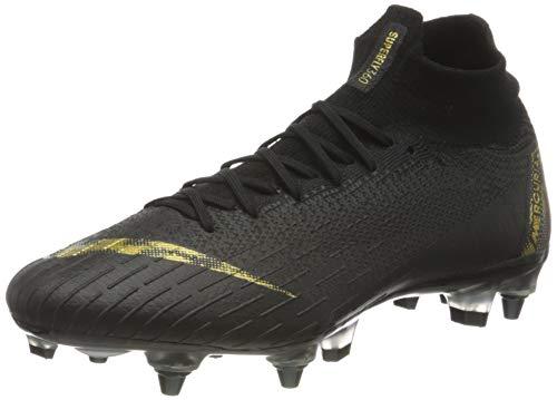Nike Herren Fußballschuhe Superfly 6 Elite SG-PRO AC schwarz/Gold - 8,5/42