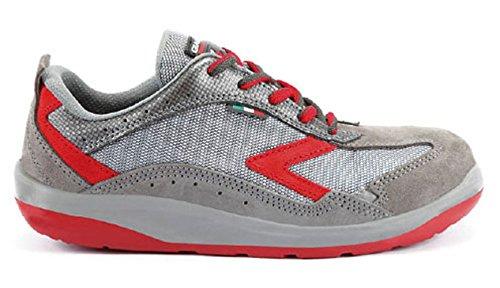 Giasco 8028001894475 - Air - scarpe di protezione del lavoro, dimensione 47, grigio