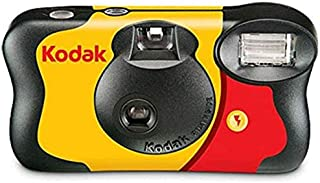 Tomlov Kodak 35mm One-Time- 35mm Reusable Film Camera Use Disposable Camera (ISO-800) with Flash - 27 Exposures exp 03/202...