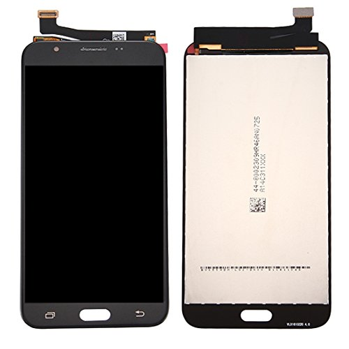 Compatibele Vervangings IPartsBuy for Samsung Galaxy J7 (2017) / J727 LCD-scherm + Touch Screen Digitizer Vergadering Accessory (Color : Black)