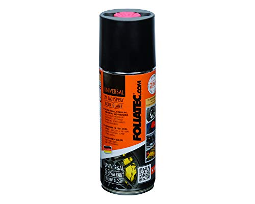 Foliatec 2132 Universal 2C Spray Pintura, Amarillo Brillante, 400 Ml